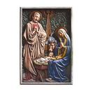 Christian Brands D3391 Nativity Plaque, Full color