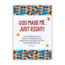 Christian Brands D3550 Large Posters: God Made Me Just Right