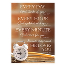 Christian Brands D3553 Large Posters: Every Day Every Hour