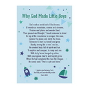 Christian Brands D3555 Large Posters: Why God Made Little Boys