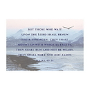 Christian Brands D3557 Small Posters: Isaiah 40:31
