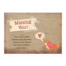 Christian Brands D3574 Postcards: Missing You