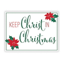 Christian Brands D3581 Yard Signs: Keep Christ In Christmas