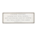 Christian Brands D3607 As For Me And My House Wall Sign