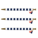 Christian Brands D3693 Navy Cabana - Tassel Pen