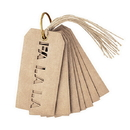 Christian Brands D3753 Holiday Set - Cut-Out Wine Tags