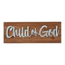 Christian Brands D3914 Inspirational Tabletop Plaques Christian Verses: Child Of God