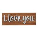 Christian Brands D3921 Farmer'S Market Tabletop Plaque - I Love You