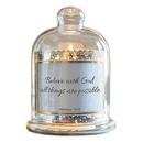 Christian Brands D3940 Cloche Dome Candleholder Christian Verses - Believe