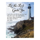 Christian Brands D4044 Square Magnet - Let The Lord Guide You