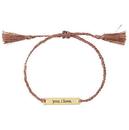 Christian Brands D4230 You. I Love Bracelet