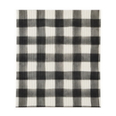 Christian Brands D4286 Black Buffalo Check - Organic Dishcloth