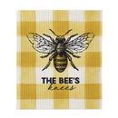Christian Brands D4289 Bee's Knees - Organic Dishcloth