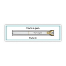 Christian Brands D4293 Boxed Gem Pen - You're A Gem - That's All®