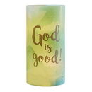 Christian Brands D4312 Led Candles Christian Verses: God Is Good