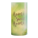 Christian Brands D4315 Garden Party General Verses Led Candles - Home Sweet Home