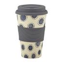 Christian Brands D4408 Indigo Dots - Bamboo Fiber Cup