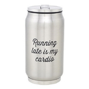 Christian Brands D4413 Running Late - Stainless Steel Can