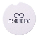 Christian Brands D4416 Car Coaster - Eyes On The Road