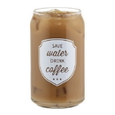 Christian Brands D4419 Save Water - Iced Coffee Gls