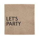 Christian Brands D4429 Let's Party - Beverage Napkin