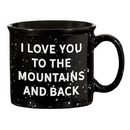 Christian Brands D4444 Black Campfire Mug - Love You