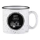 Christian Brands D4446 White Campfire Mug - Happy Camper