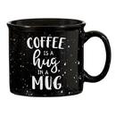 Christian Brands D4448 Black Campfire Mug - Hug in a Mug