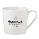 Christian Brands D4453 Cafe Mug - When Dating Goes Too Far