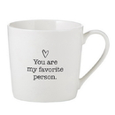 Christian Brands D4454 Cafe Mug - Favorite Person