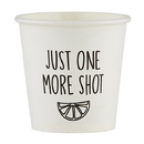 Christian Brands D4501 Just One More Shot - Paper Shot Cups