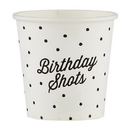 Christian Brands D4502 Birthday Shots - Paper Shot Cups