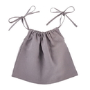 Stephan Baby D4619 Heirloomed Smock Top - Gray, 6-12 Months