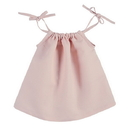 Stephan Baby D4620 Heirloomed Smock Top - Pink, 6-12 Months