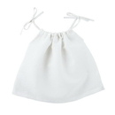 Stephan Baby D4621 Heirloomed Smock Top - White, 6-12 Months