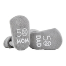 Stephan Baby D4653 Socks - Gray - 50% Mom And 50% Dad, 3-12 Months