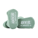 Stephan Baby D4655 Socks - Green - Adventure Awaits, 3-12 Months