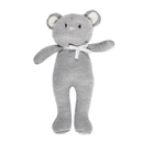 Stephan Baby D4725 Knit Toy - Gray Bear