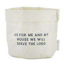 Faithworks F1242 Washable Paper Holder - Medium - White - As For Me And My House
