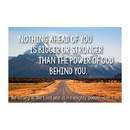 Christian Brands F1253 Pass It On Cards - Nothing Ahead Of You Is Bigger