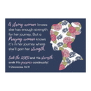 Christian Brands F1255 Pass It On Cards - Strong Woman Knows