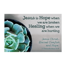 Christian Brands F1258 Pass It On Cards - Jesus Is Hope Healing