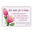 Christian Brands F1261 Pass It On Cards - I Said A Prayer