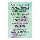 Christian Brands F1262 Pass It On Cards - Romans 8:28