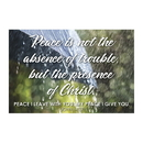 Christian Brands F1266 Pass It On Cards - Peace Is Not The Absence Of Trouble