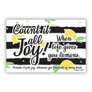 Christian Brands F1268 Pass It On Cards - Count It All Joy
