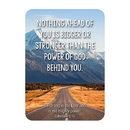 Christian Brands F1270 Verse Card - Nothing  Ahead Of You Is Bigger