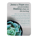 Christian Brands F1271 Verse Card - Hope And Healing