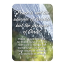 Christian Brands F1272 Verse Card - Peace Is Presence