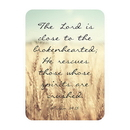 Christian Brands F1273 Verse Card - Close To The Brokenhearted